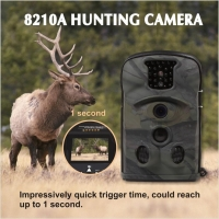 China Thermal Imaging Night Vision CCTV Wireless Waterproof 8210a Camo Hunting Wildlife Camera on sale