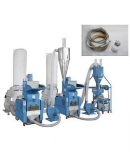 China PVC soft pipe crusher& nylons separation system on sale