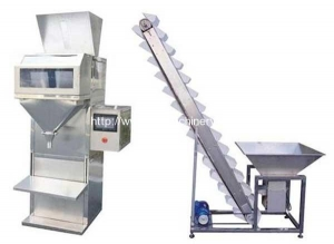 China Semi-automatic Coffee Beans Dosing Packing Machine on sale