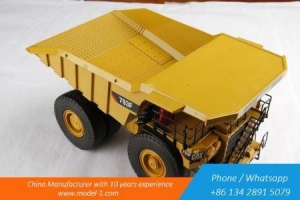 China Construction Machinery Models 1 43 Scale Construction Machinery Model for CAT MINING TRUCK on sale