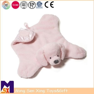 China Baby Comforter Baby Soft Puppy Shape Security Blanket on sale