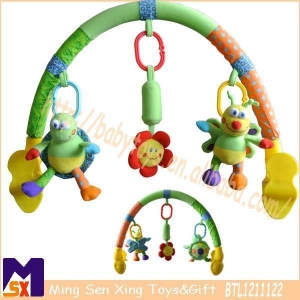 China Stroller Activity Bar Baby Arch Toy for Stroller on sale