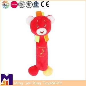 China Squeeze Toys Plush Soft Bear Squeaker Toy on sale