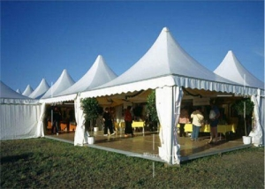 China 5m Luxury Outdoor Marquee Pagoda Tent For Sale In Guangzhou, China on sale