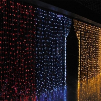 China Outdoor Decoration LED Christmas Curtain Light on sale