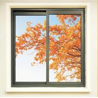 Aluminum alloy thermal insulating sliding window