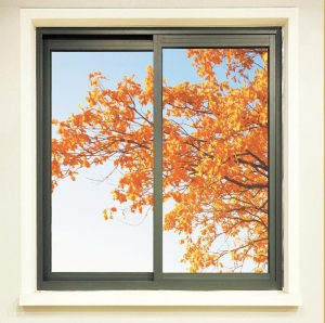 China Aluminum alloy thermal insulating sliding window on sale