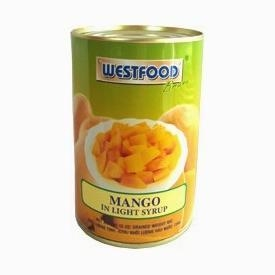 China Fruits Canned mango in syrup on sale