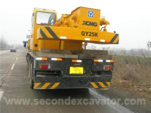 China Used Truck Crane Used Truck Crane XCMG QY25K 25T, Year 2010 on sale