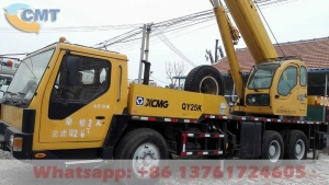 China Used Truck Crane XCMG QY25K 25T, Year 2007 on sale