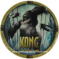 Paper Plate King Kong Dessert Paper Plate