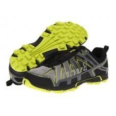 China Inov-8 Men's Roclite 295 Trail Running Shoes - Grey / Lime on sale