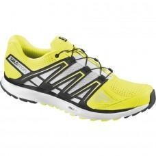 China Salomon Men's X-Scream Running Shoes - Fluo Yellow/Black/White on sale