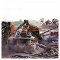 Iron ore mining equipment