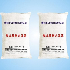 China Industrial Furnace Refractories name: Clay refractory mortar on sale