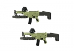 Augmented Virtual Reality Movie Prop Guns 5V 1A Input With 6000mAH Capacity Battery