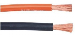 China Flexible Copper conductor Rubber Insulated Welding Cable on sale