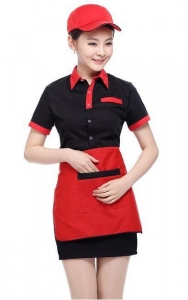 China Work Uniform for Waitress Item No.:A1-6014 on sale