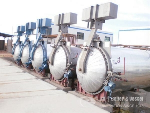 China Autoclave for wood processing on sale