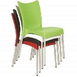 China Chopin Green Cafe Chairs - Outdoor / Indoor on sale