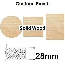 China 28mm Thick Solid Beech Wood Table Tops 700mm Round 352110/1 - Options on sale