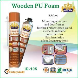 China Anti Noise Polyurethane Foam Adhesive, PU Foam Glue For Glass / Plastic on sale
