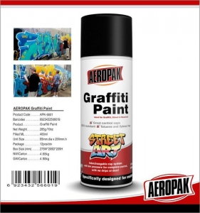 China Quick Drying 400ML Purple Montana Spray Paint, Chemical Graffiti Art Spray Can on sale