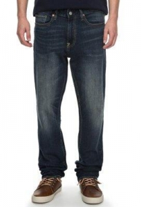 China DC Shoes Worker Straight Fit Jeans, Medium Stone on sale