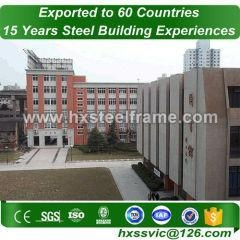 China school prefabs building and steel school buildings pre-made export to Europe on sale