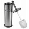 China Vented Stainless Steel Toilet Brush and Holder for sale
