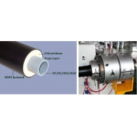 Insulated Foaming Pipe Production Line Polyurethane Foaming Insulation Pipe Production Line
