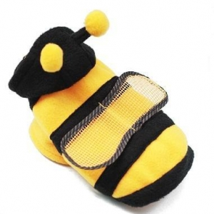 China Dog Clothes Bumble Bee Dog Costume on sale