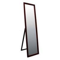 Floor Mirrors 55 Inch Walnut Finish Stand Mirror