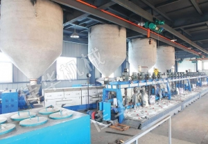 China Polyester Staple Fiber... Polyester Staple Fiber Production Line on sale