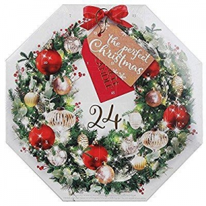China Wreath Advent Calendar Christmas Scented Tea Light Candles Gift Set from Yankee Candle on sale
