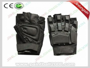 China Paintball SWAT Tactical Half Finger Gloves supplier