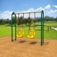 China Playground Outdoor Swing Sets For Kids on sale