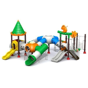 China Kids Castle Series Slides Commercial Playground Sets Outdoor Play for children on sale