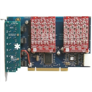 China Asterisk Card PCI Asterisk Analog Board with 8 FXO ports,Supports Asterisk on sale