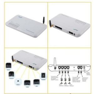 China Assurance radio sip voip gateway built in conference group roip302m on sale