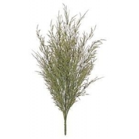 China 30 Green & Gold Artificial Grass Seed Bush on sale