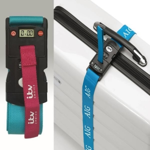 China Luggage Strap With Scale on sale