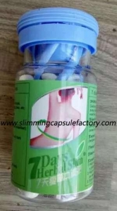 China 7 Days Herbal Slim Diet Pill Slimming Capsules on sale