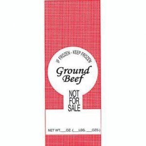 China Wrapping & Packaging Poly Meat Bags - Wild Game, Ground Beef, Pork, Plain - 100 Count on sale