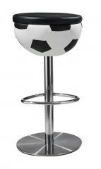China Restaurant creative fiberglass football bar stool on sale