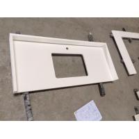 Composite White Quartz Kitchen Counter Tops / Worktops & Vanity Tops