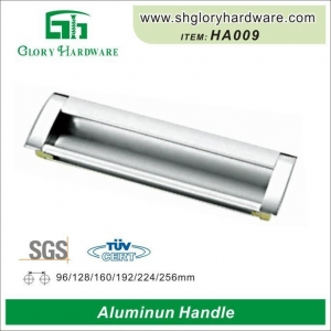 China Best Selling Aluminum Flush Pull Handle, Recessed Cabinet Door Handle on sale