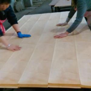 China Veneer Boards High Quality Real Maple Wood Veneer Plywood Board on sale