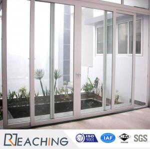 China Customized Germany Hardware UPVC / PVC Terrace Door Sliding Windows and Doors on sale