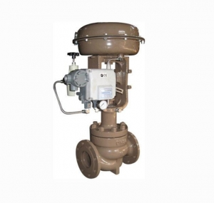 China Top Guided Single Seated Control Valve , Pneumatic Diaphragm Operated Control Valve on sale
